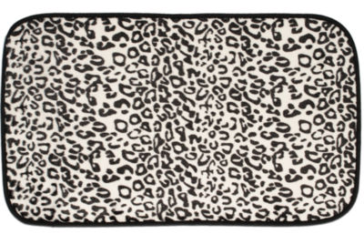 Exotic Leopard Print Quick Dry 20 x 31.5 Memory Foam Bathroom Rug