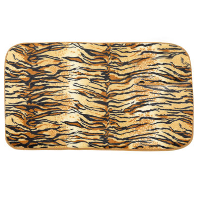 Faux Fur Cushioned Bath Mat 20 x 31.5