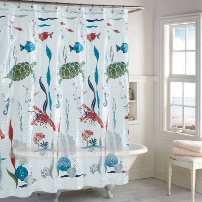 Destinations Aquarium Shower Curtain
