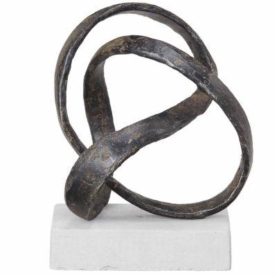 INK + IVY Floret Metal Sculpture