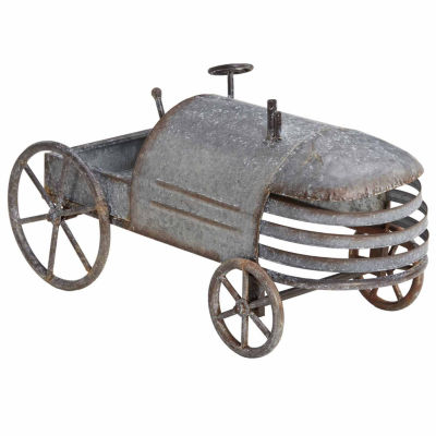 INK + IVY Tractor Metal Sculpture