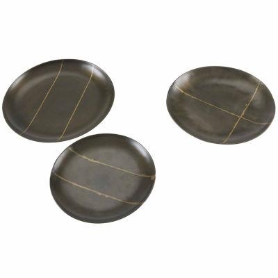 INK + IVY Tribecca Round Decorative Platter Set