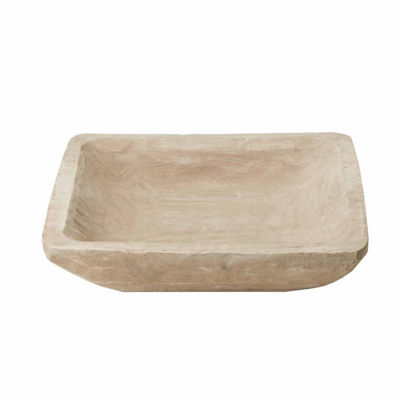 Madison Park Jack Natural Wood Bowl
