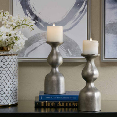 Madison Park Signature Allston Set of 2 Candle Holders