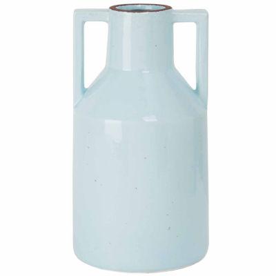 Madison Park Signature Clift Ceramic Vase with Handles