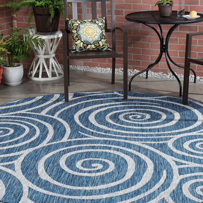Veranda Varya Transitional Round Area Rug