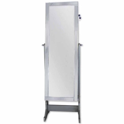 Glam Cheval Mirror Jewelry Armoire