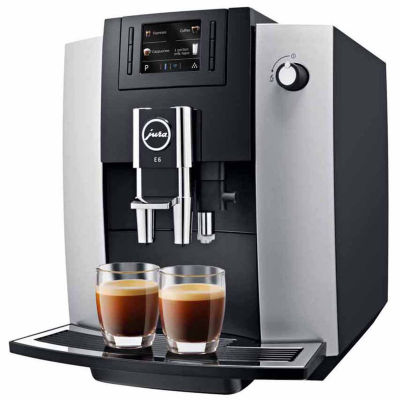 JURA® E6 Automatic Coffee Machine