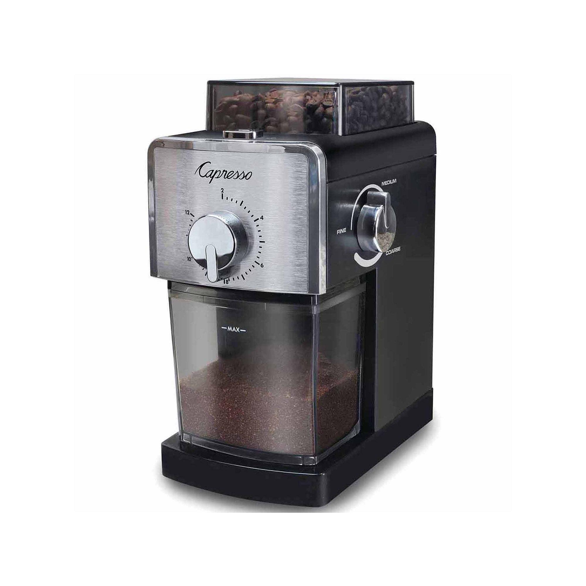 JuCapresso Coffee Burr Grinder