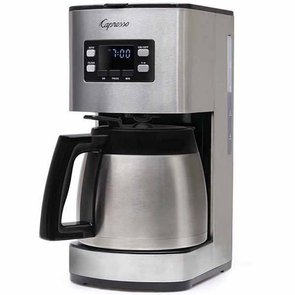 Capresso St300 10 Cup Stainless Steel Coffee Maker