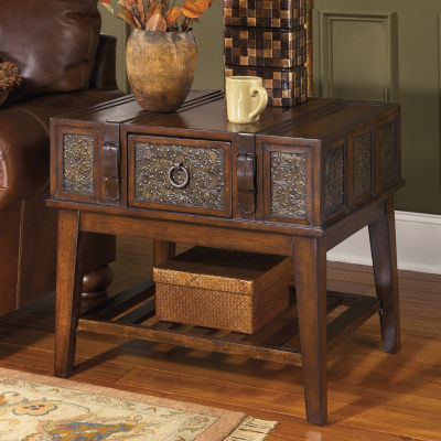 Signature Design by Ashley Mckenna 1-Drawer End Table
