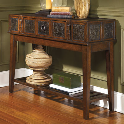 Signature Design by Ashley Mckenna 1-Drawer Console Table