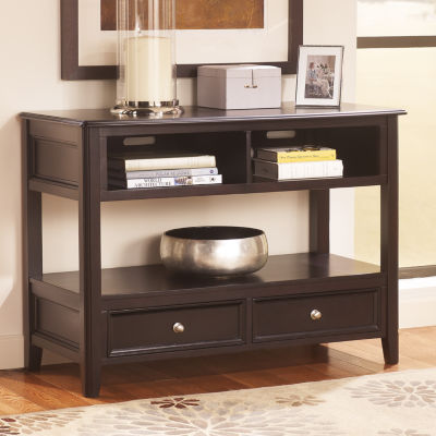 Signature Design by Ashley Carlyle 2-Drawer Console Table