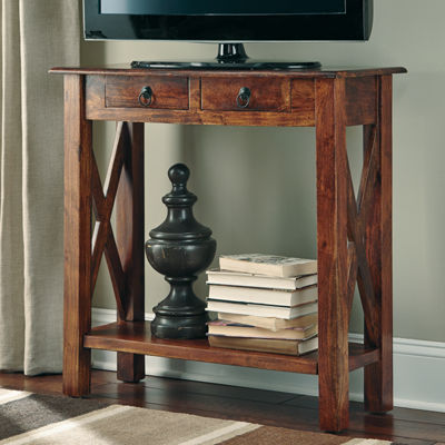 Signature Design by Ashley Abbonto 2-Drawer Console Table