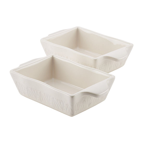 Ayesha Curry™ Home Collection Stoneware 2-pc. Au Gratin Dish