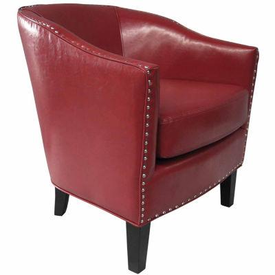 Madison Park Emery Barrel Arm Chair