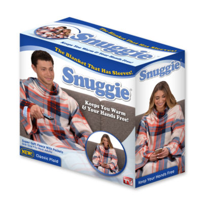 As Seen On TV Classic Plaid Snuggie
