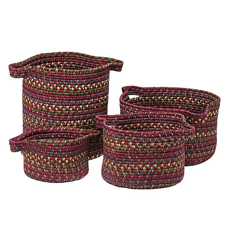 Colonial Mills Andreanna Basket, One Size , Red