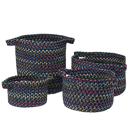 Colonial Mills Andreanna Basket, One Size , Blue