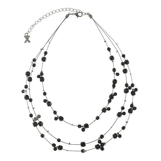 Mixit 13 Inch Cable Illusion Necklace