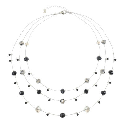 Mixit Womens Strand Necklace