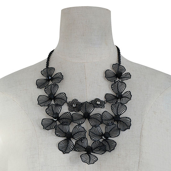 Mixit 21 Inch Cable Collar Necklace