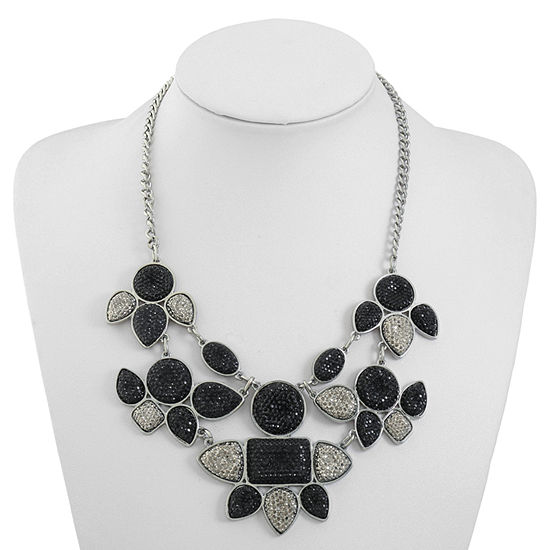 Mixit 17 Inch Cable Collar Necklace