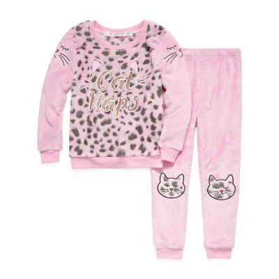 Jammers Kids 2-pc. Pant Pajama Set Girls