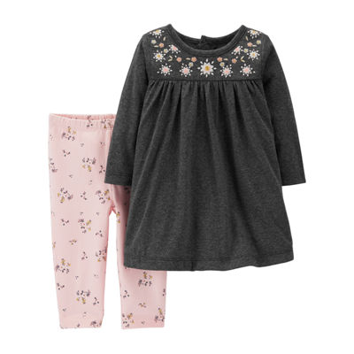 Carter's 2-Pc. Dress & Legging Set - Baby Girl