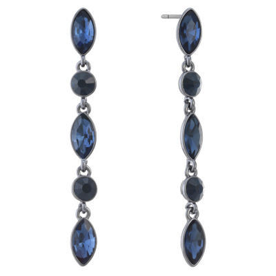 Liz Claiborne Blue Drop Earrings