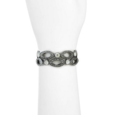Liz Claiborne Womens Gray Stretch Bracelet
