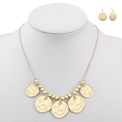 Liz Claiborne Gold Tone 2-pc. Jewelry Set