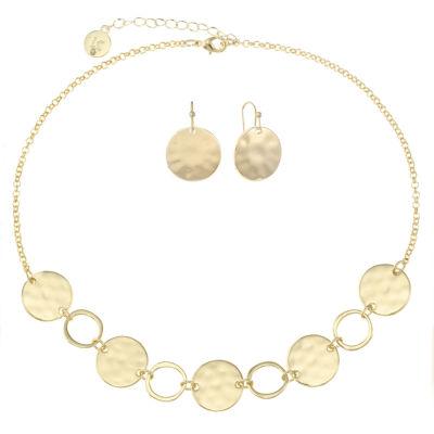 Liz Claiborne Gold Tone 2-pc. Jewelry Set