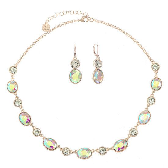 Monet Jewelry White Jewelry Set