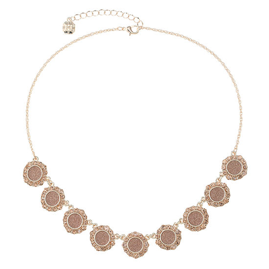 Monet Jewelry Pink 17 Inch Rope Collar Necklace