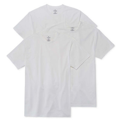 Stafford® 3-pk. Cotton Stretch Crewneck T-Shirts
