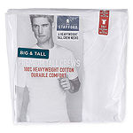Stafford® 4-pk. Heavyweight Crew Neck T-Shirts–Big & Tall