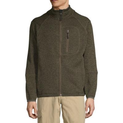 Vintage Heather Fleece Jacket
