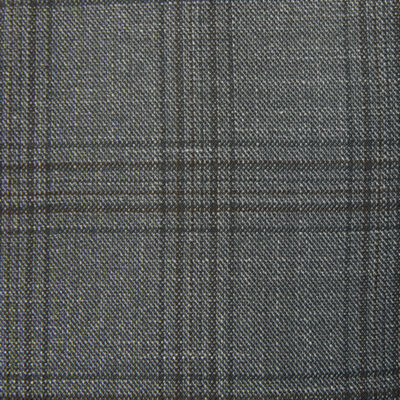 Shaquille O'Neal XLG Gray Plaid Sport Coat - Big and Tall