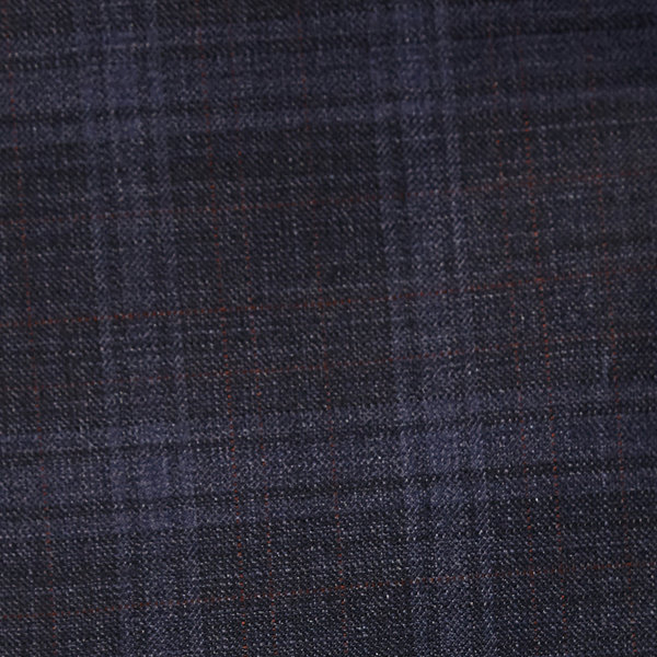 Collection by Michael Strahan  Blue Plaid Classic Fit Suit Jacket