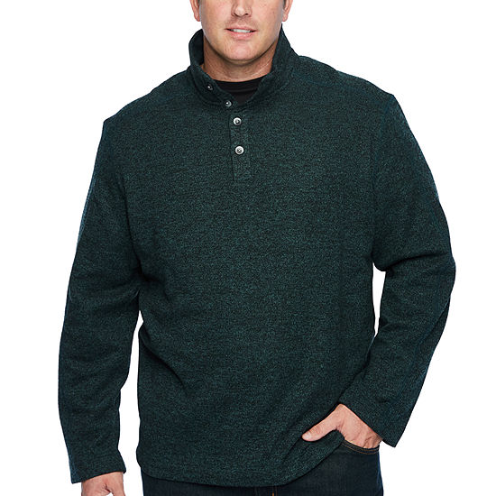 acd027472e7 Van Heusen Mens Long Sleeve Cardigan - Big and Tall - JCPenney
