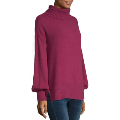 a.n.a Womens Turtleneck Long Sleeve Pullover Sweater