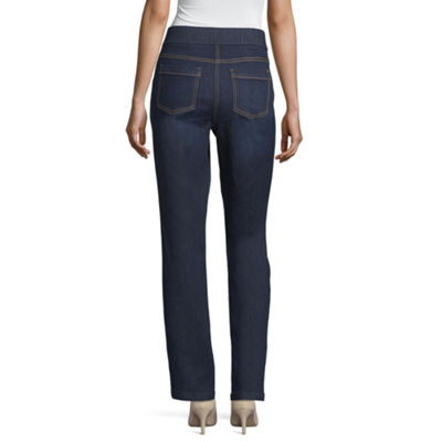 Liz Claiborne Comfort Fit Pull On Pant