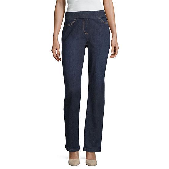 Liz Claiborne Comfort Fit Pull On Pant