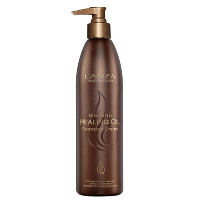L'ANZA Keratin Healing Oil Cleansing Cream - 3.4 oz.