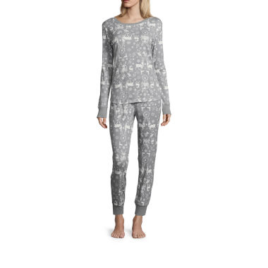 North Pole Trading Co. Pant Pajama Set-Talls