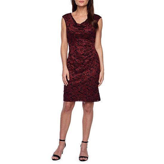7bd0c8b4 Scarlett Sleeveless Lace Sheath Dress - JCPenney