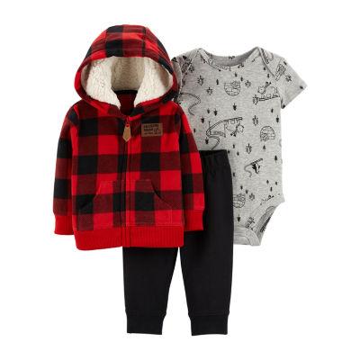 Carter's 3-Pc. Little Jacket Set - Baby Boy