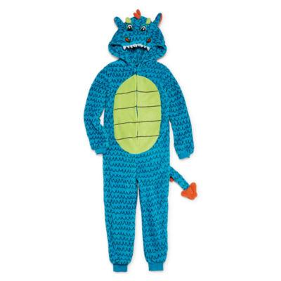Jammers Kids Long Sleeve One Piece Pajama-Preschool Boys