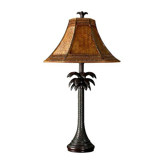 Stylecraft French Verdi Metal Table Lamp